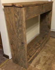 Barn Wood Entryway Table